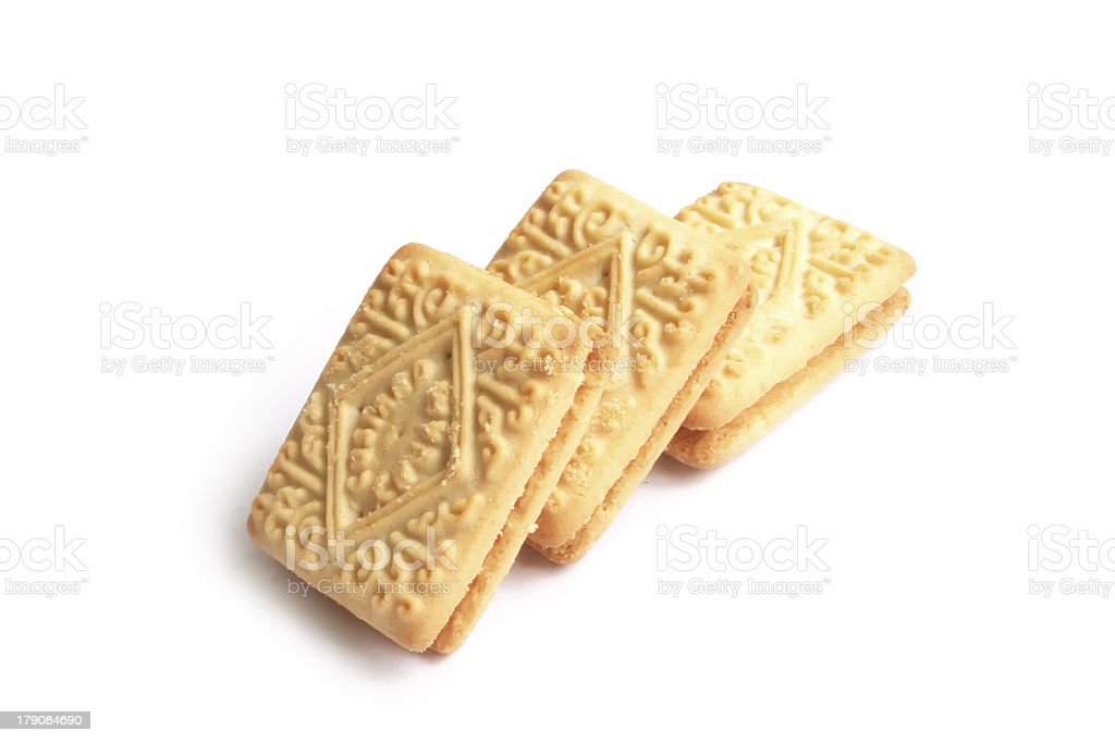 English Tea Time Biscuits royalty-free stock photo