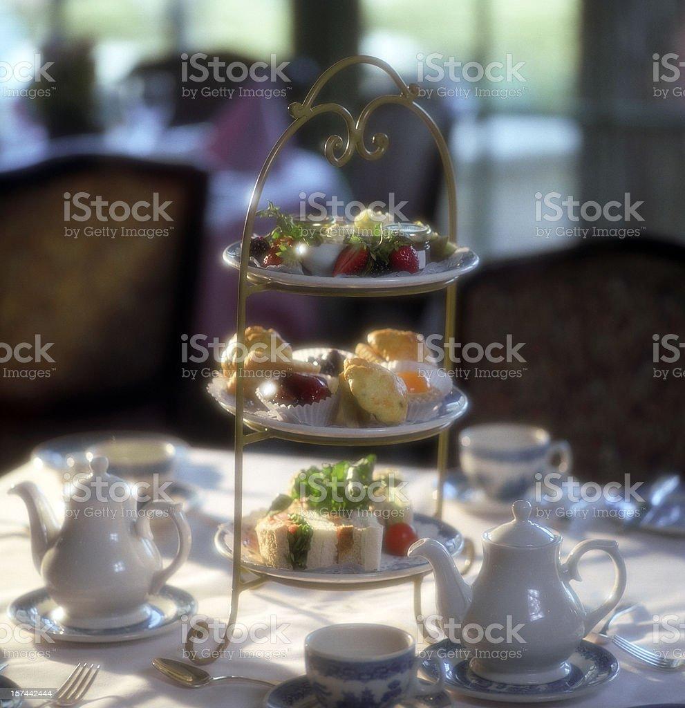English Tea Time royalty-free stock photo
