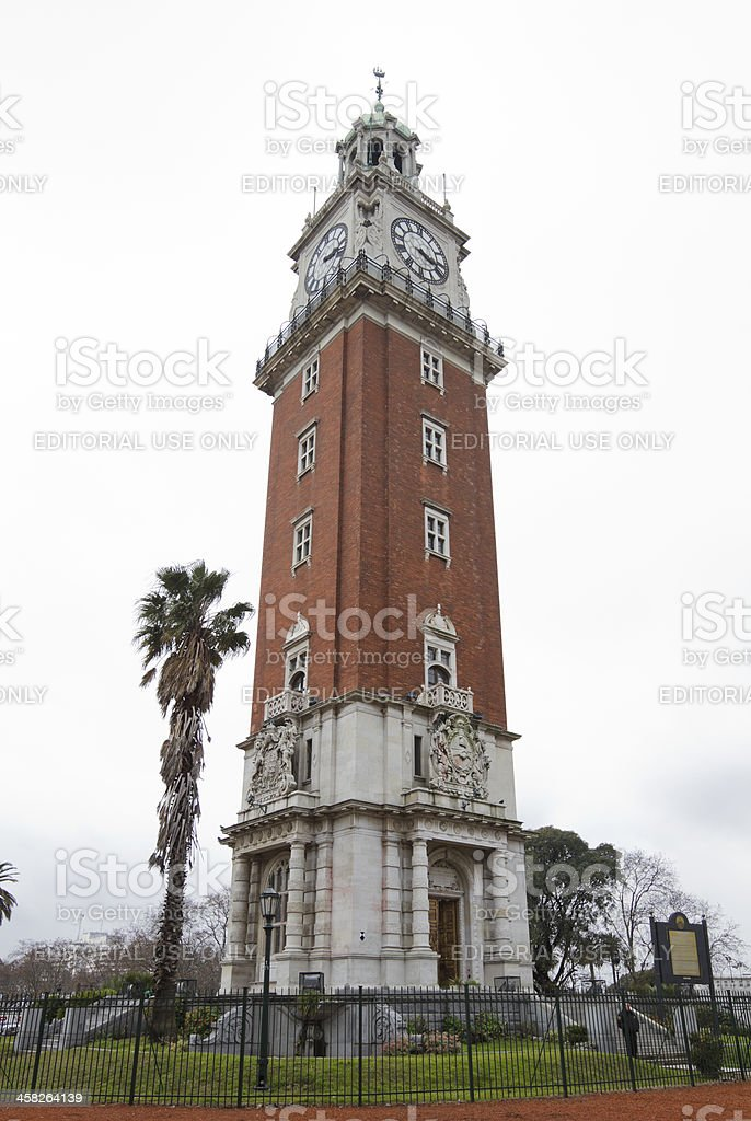 English Tower, Buenos Aires, Argentina royalty-free stock photo