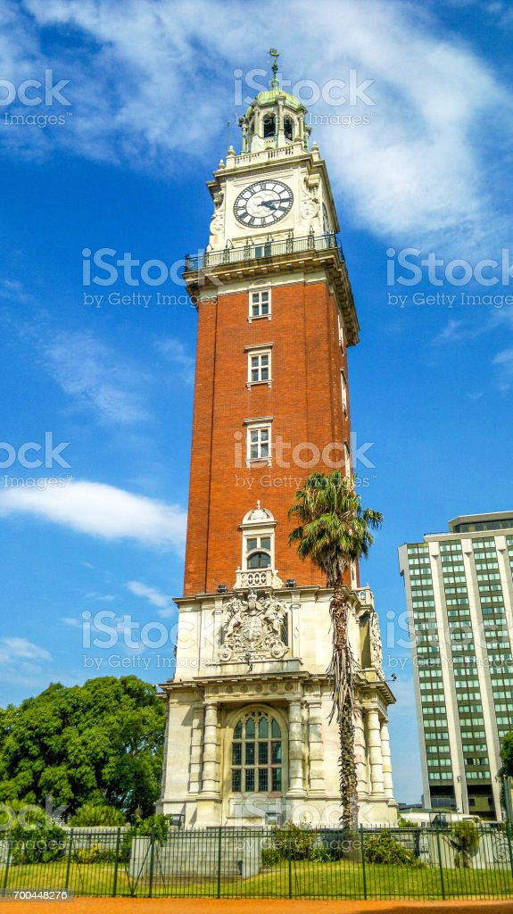 English Tower (Torre de Los Ingleses) Buenos Aires Argentina South America royalty-free stock photo