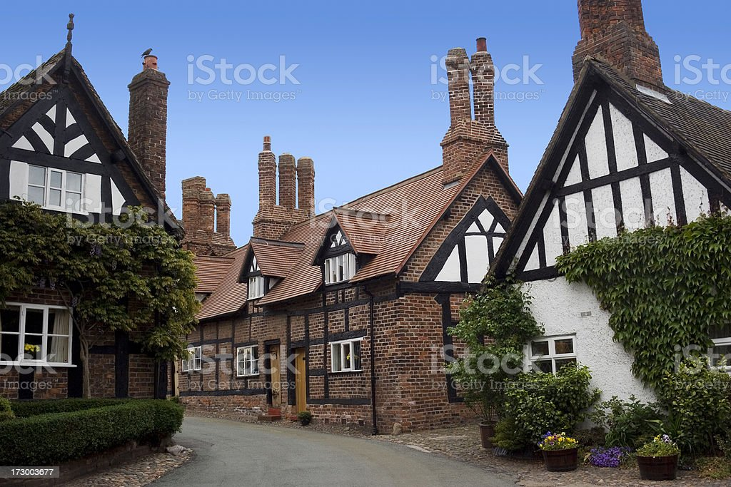 English village royalty-free stock photo