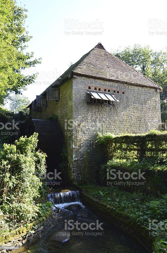 English watermill royalty-free stock photo
