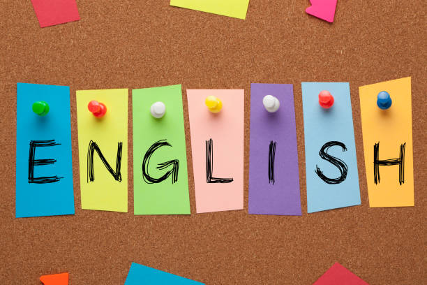 English Word Concept stock photo