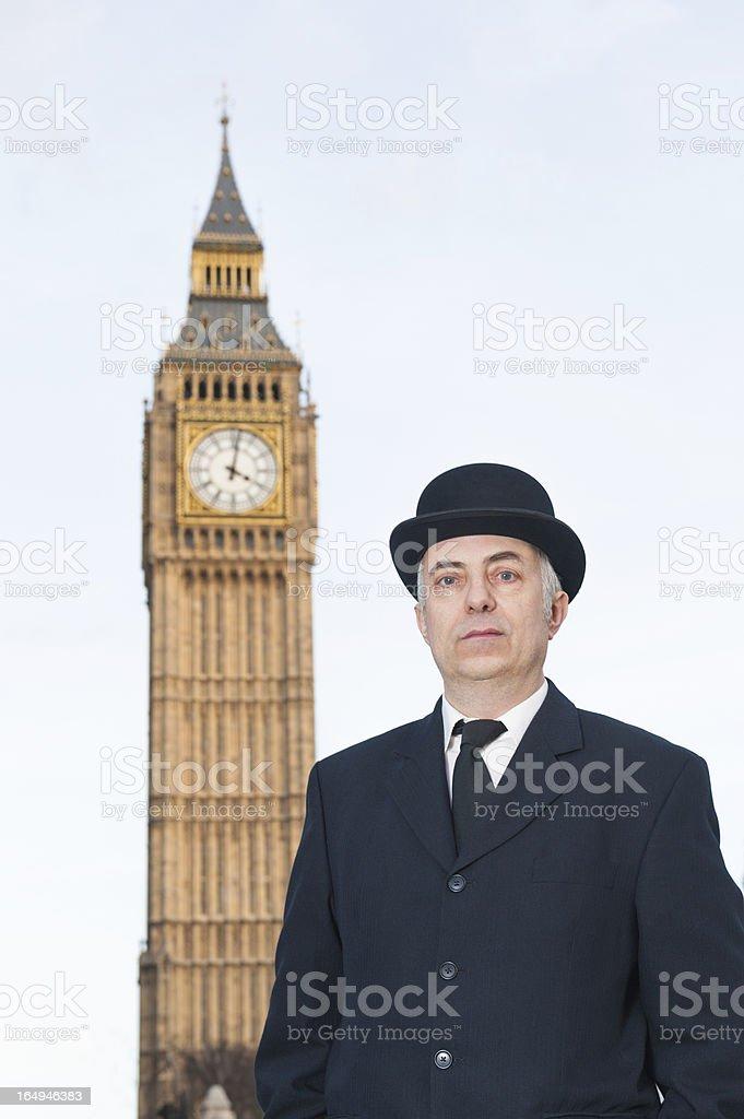 Englishman auf Big Ben – Foto