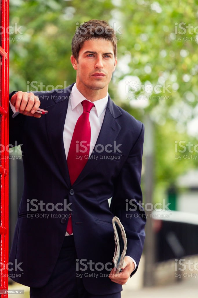 Englishman in London royalty-free stock photo