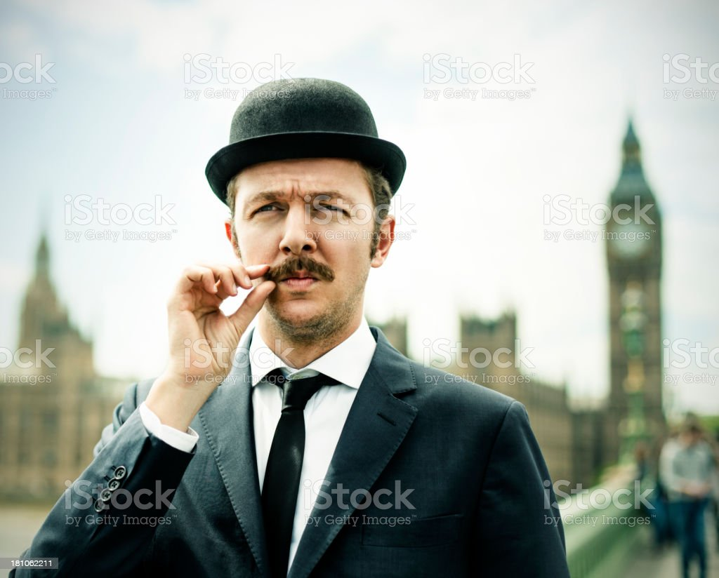 Englishman stock photo