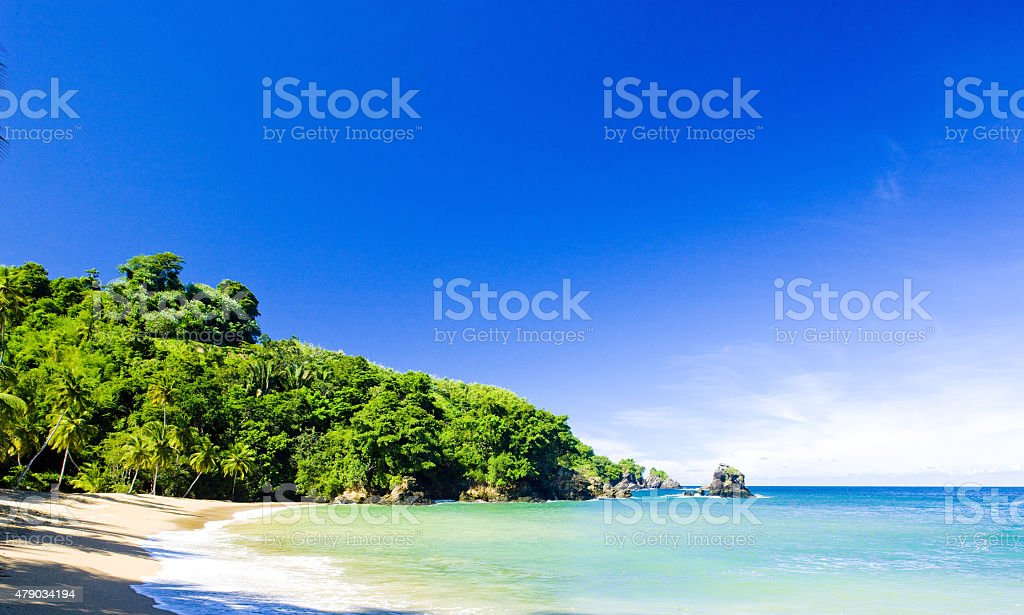 Englishman's Bay stock photo