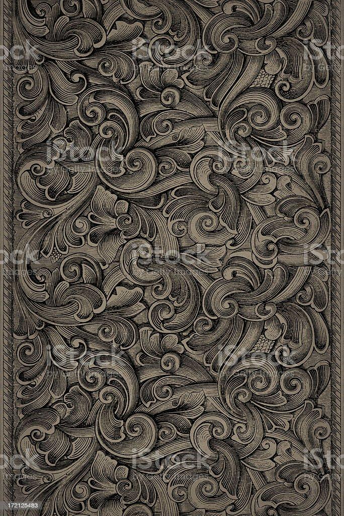 Engraving Pattern royalty-free stock photo