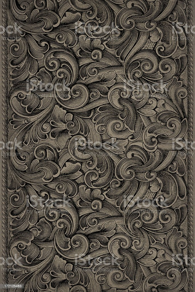 Engraving Pattern stock photo