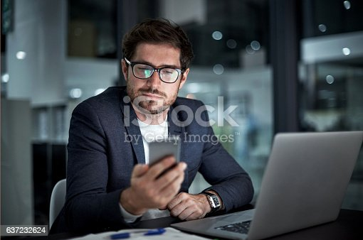 istock Enhancing his entrepreneurial ambition with the right tools 637232624