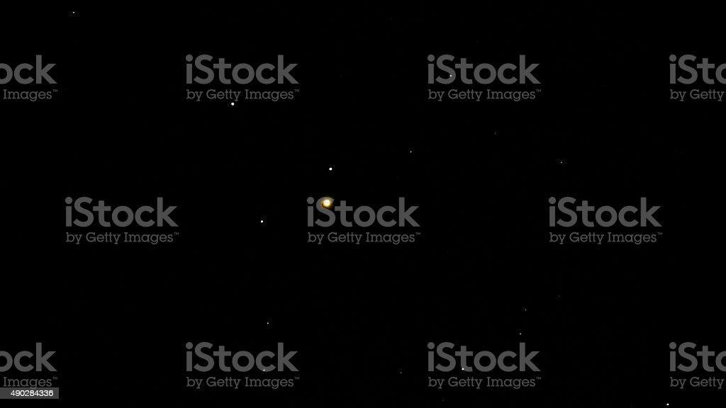 Enif Star Epsilon Pegasus is a triple star stock photo