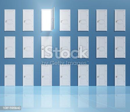922736646 istock photo Enigma Doors 1081595640