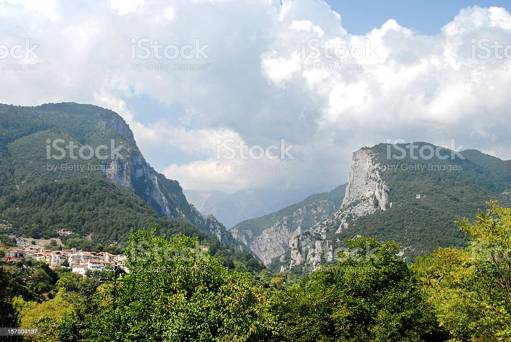 Enipeas gorge royalty-free stock photo