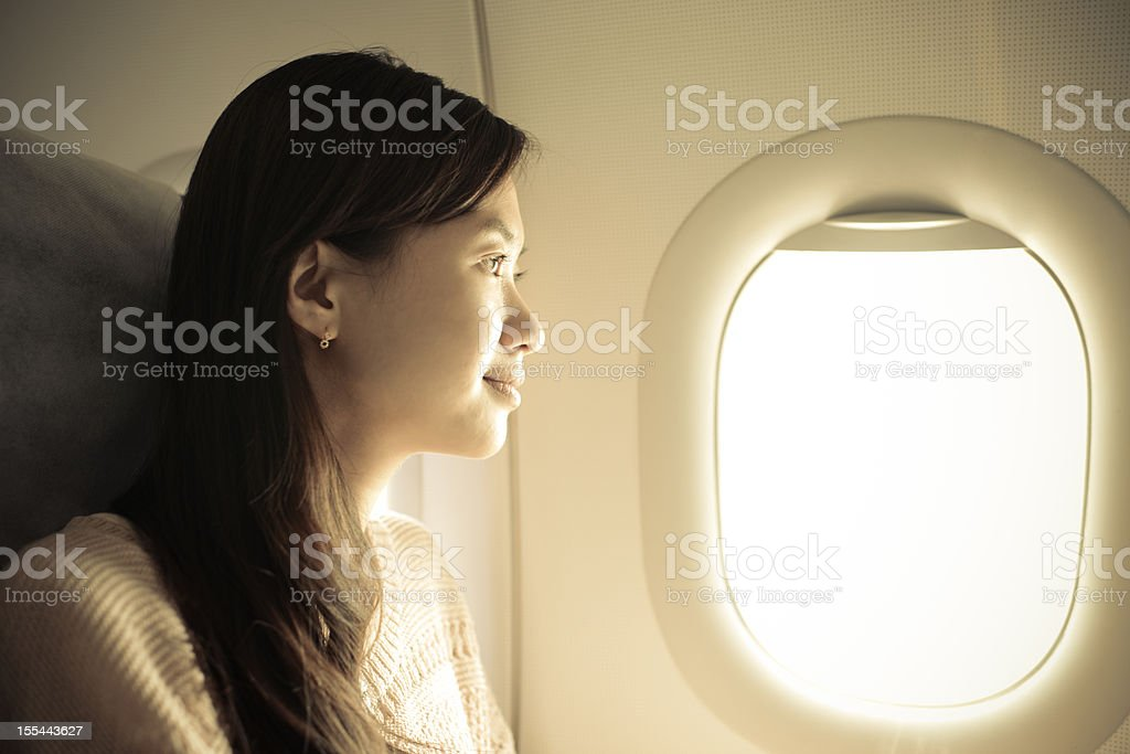 Enjoy Air Travel - XXXXXLarge stock photo