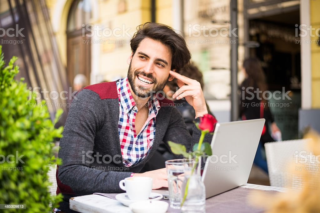 Enjoy being busy royalty-free stock photo