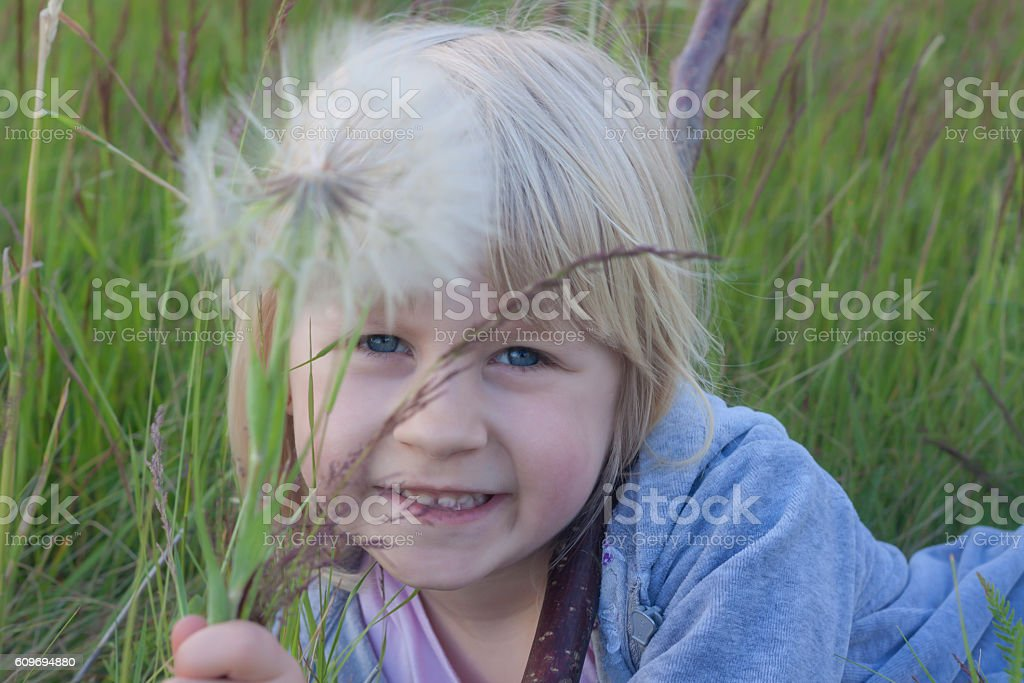 enjoy in nature. stock photo