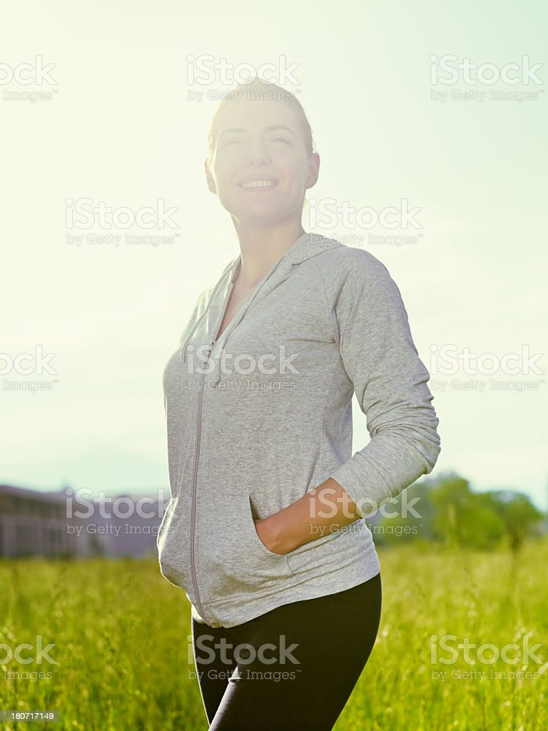 enjoy in your life royalty-free stock photo