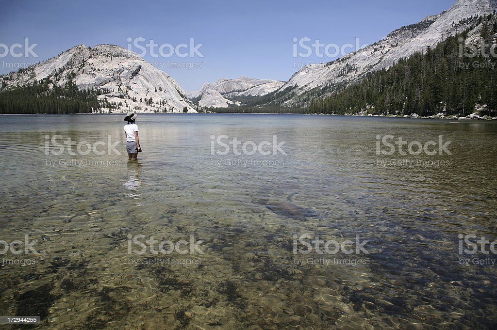 Enjoy Lake View royalty-free stock photo