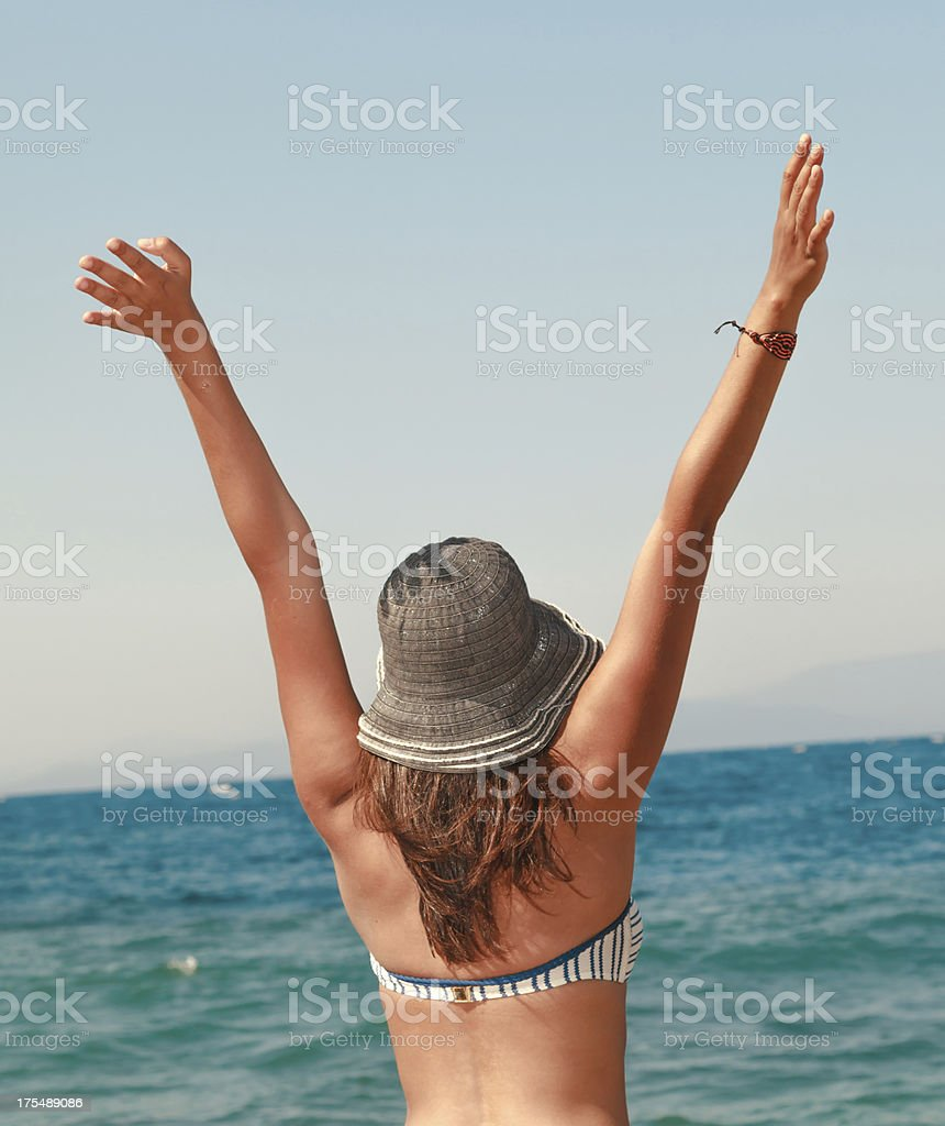 Enjoy Life royalty-free stock photo