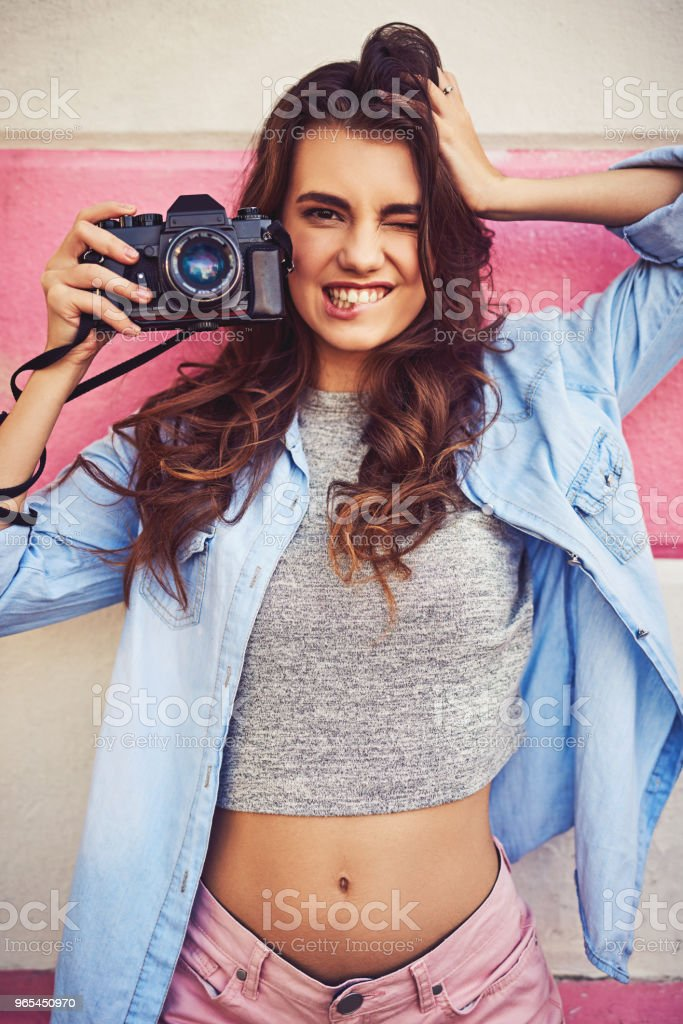 Enjoy moments and capture memories zbiór zdjęć royalty-free