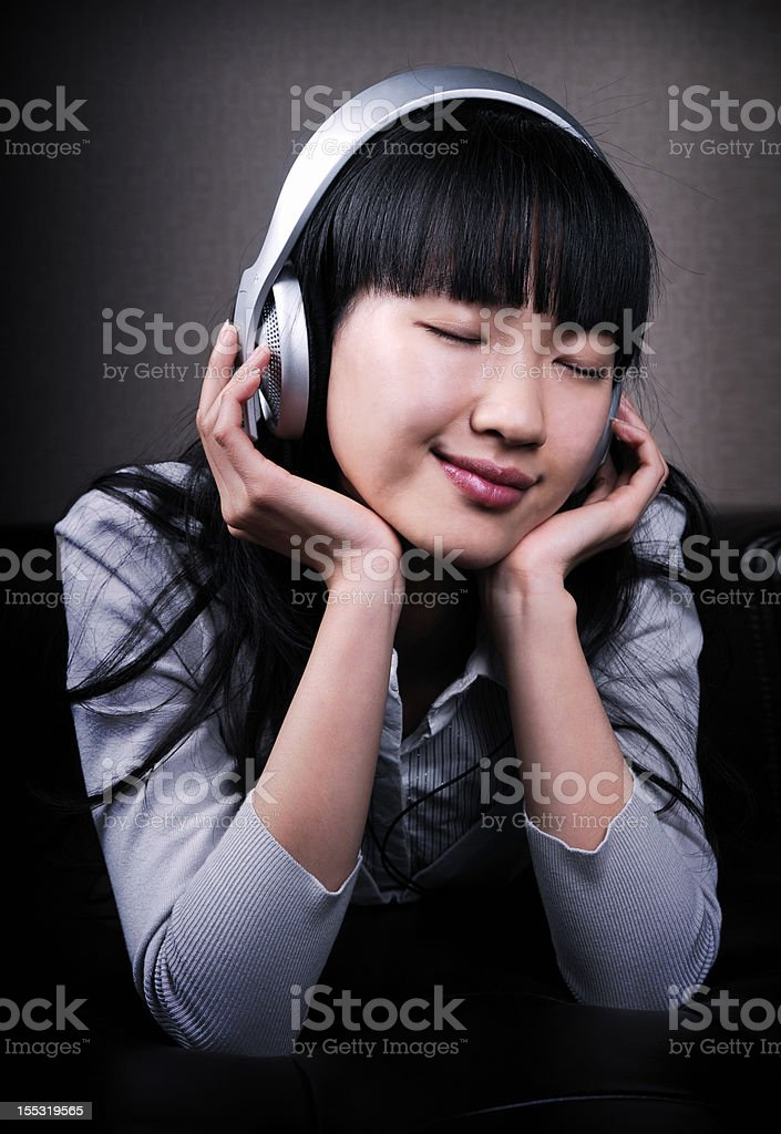 Enjoy Music royalty-free stock photo