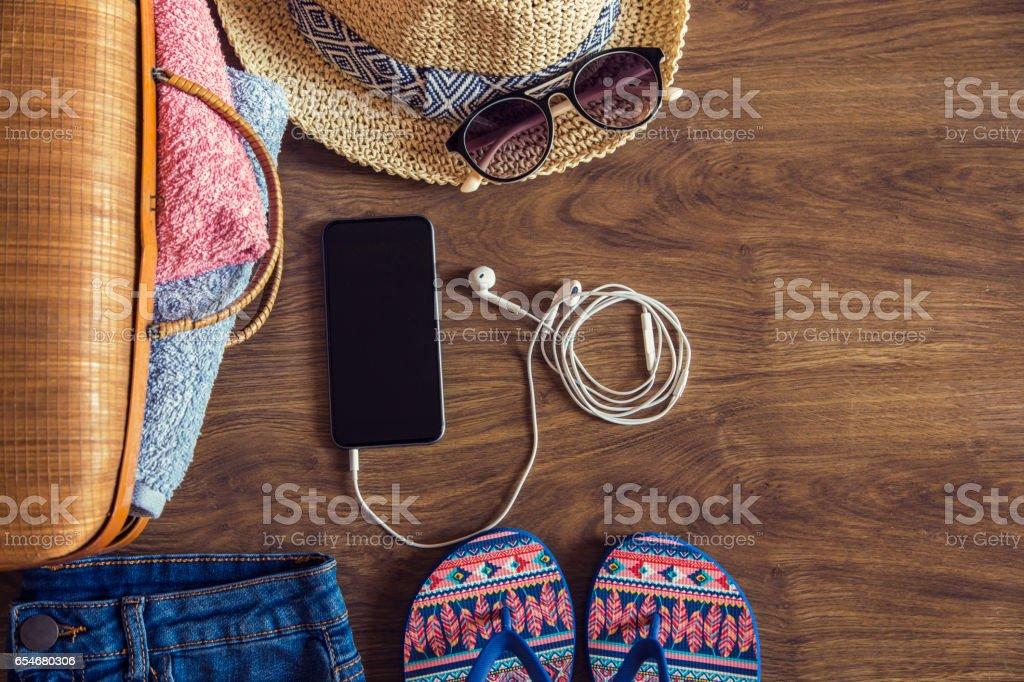 Disfrute del verano - foto de stock
