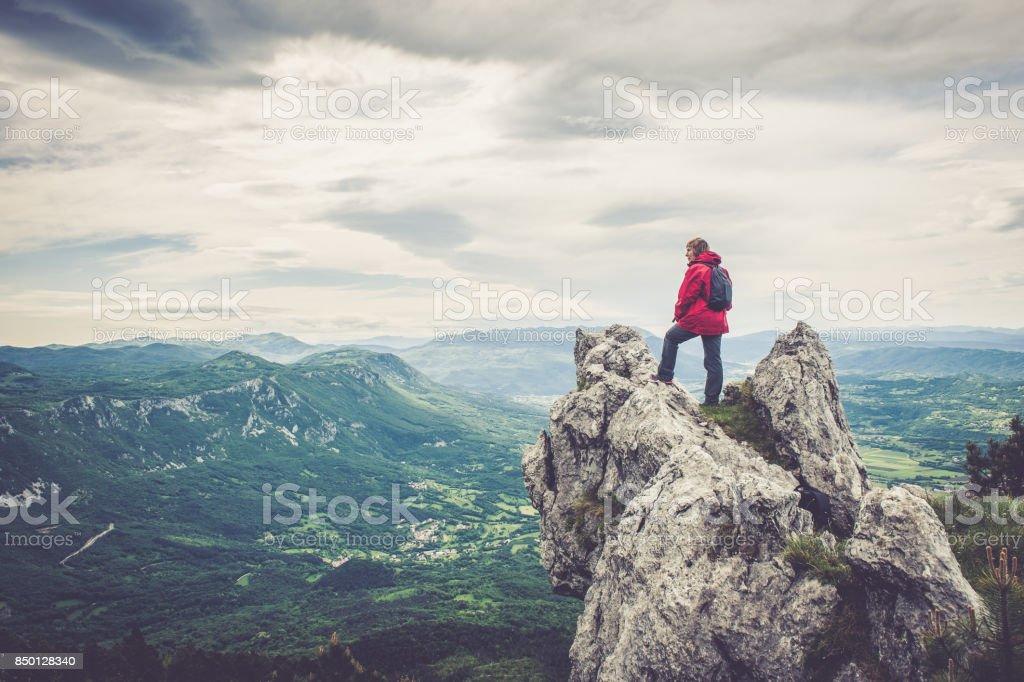 Enjoy the amazing landscape stock photo