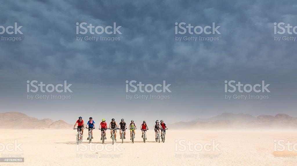 Enjoy the Jordan Desert Ride! stock photo