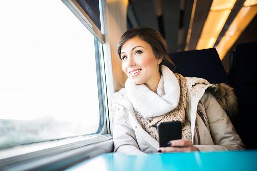 Enjoy the journey by train