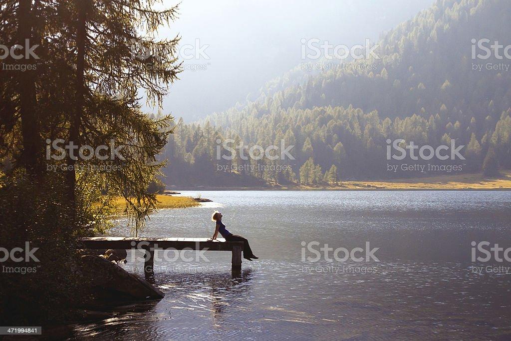 enjoy the nature stock photo