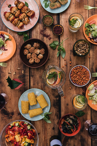 Enjoy Your Dinner Stock Photo - Download Image Now