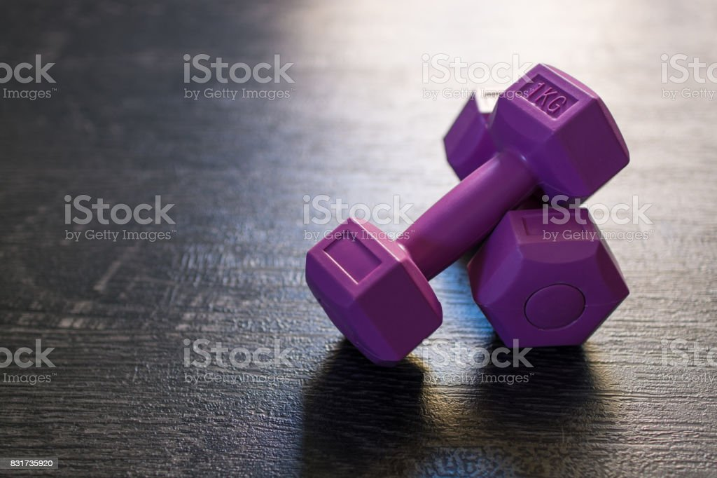 Enjoy your workout stock photo