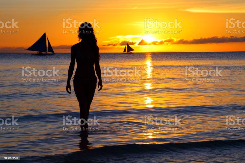 Genießen Sie einen wunderschönen Strand  Lizenzfreies stock-foto