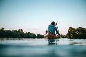 istock Enjoying a boat ride 598687102