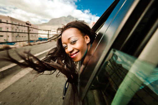 Enjoying A Car Ride Stock Photo - Download Image Now