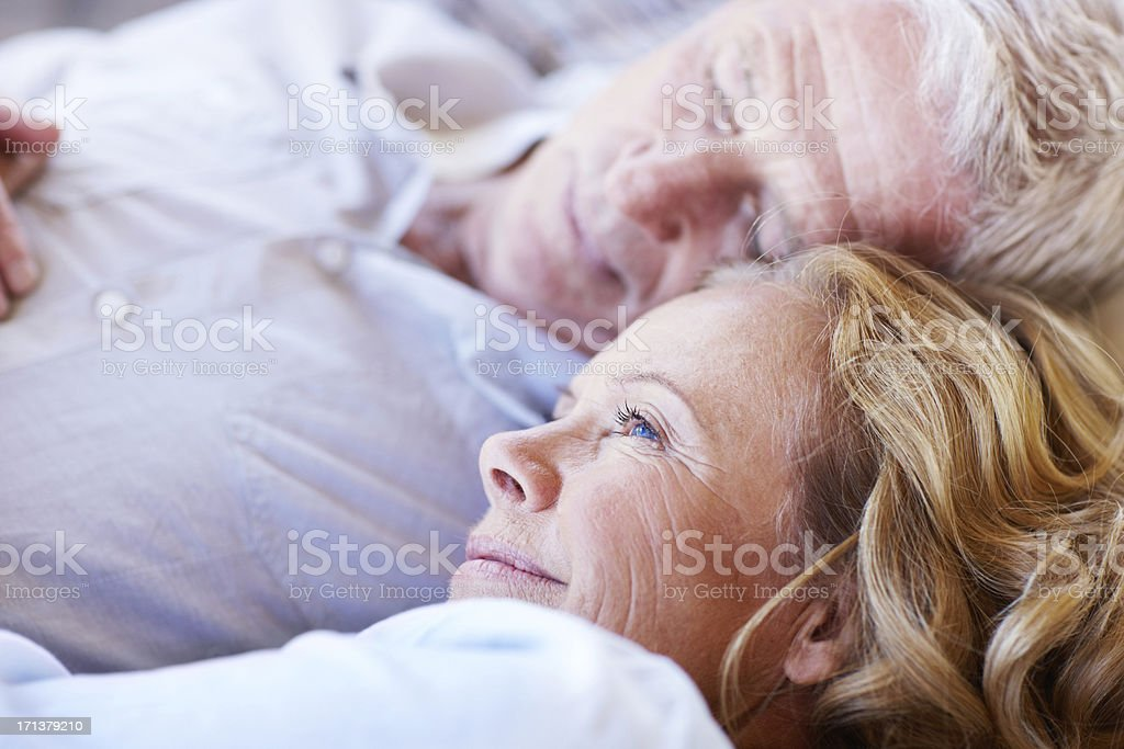 Enjoying a lovely afternoon nap royalty-free stock photo