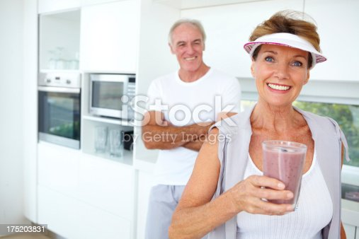 930265372 istock photo Enjoying a nutrient filled smoothie in the morning 175203831