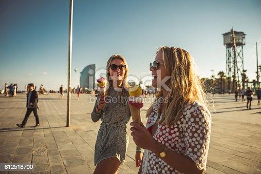 istock Enjoying an ice cream 612518700