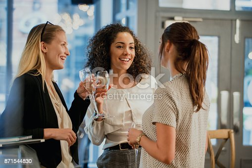 istock Enjoying Drinks After Work 871544830