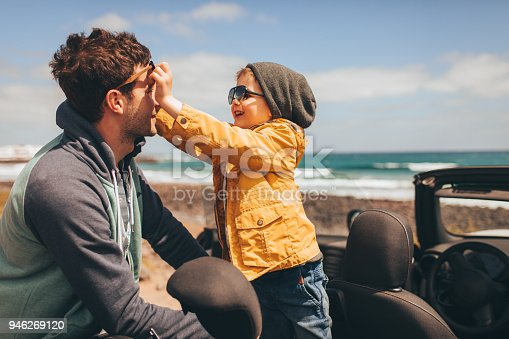 istock Enjoying family road trip 946269120