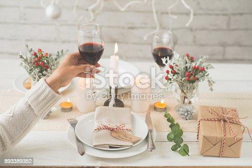 istock Enjoying glass of wine 893389352