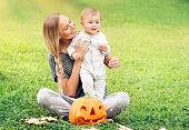 istock Enjoying Halloween holiday 1051767150