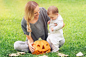 istock Enjoying Halloween holiday 1051767224