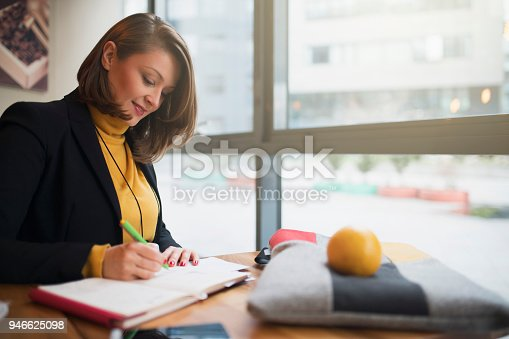 istock Enjoying Her Creative Work 946625098