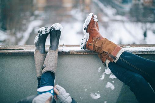 Genießen Sie Im Winter Tag Stockfoto und mehr Bilder von 2015