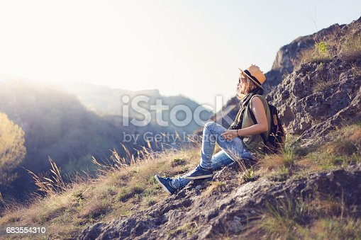 521982322 istock photo Enjoying in nature 683554310