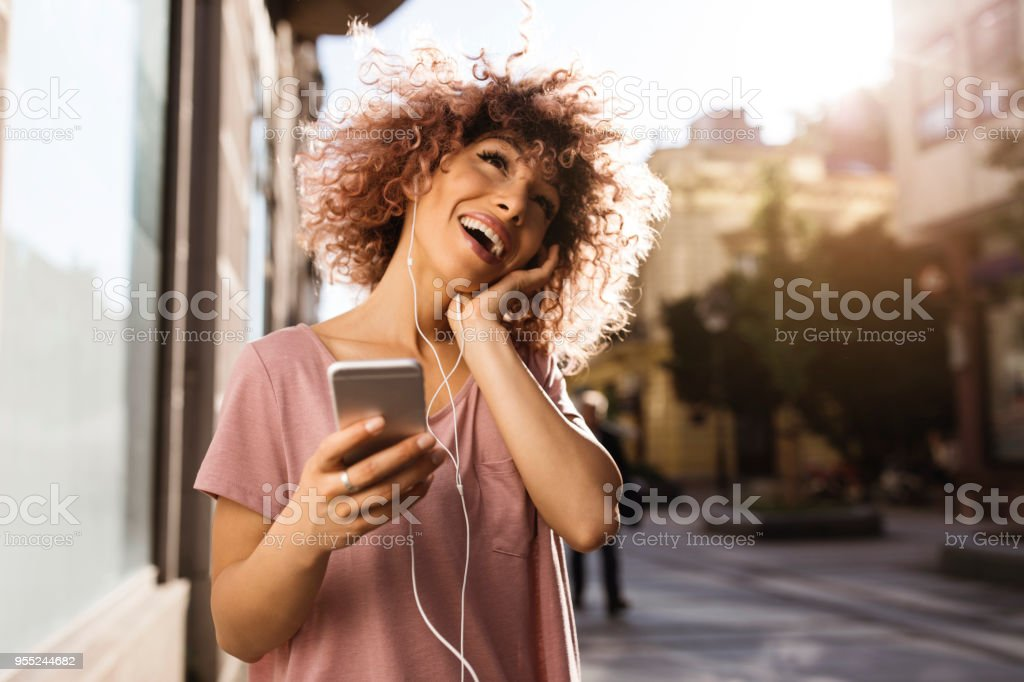 Enjoying leisure time stock photo