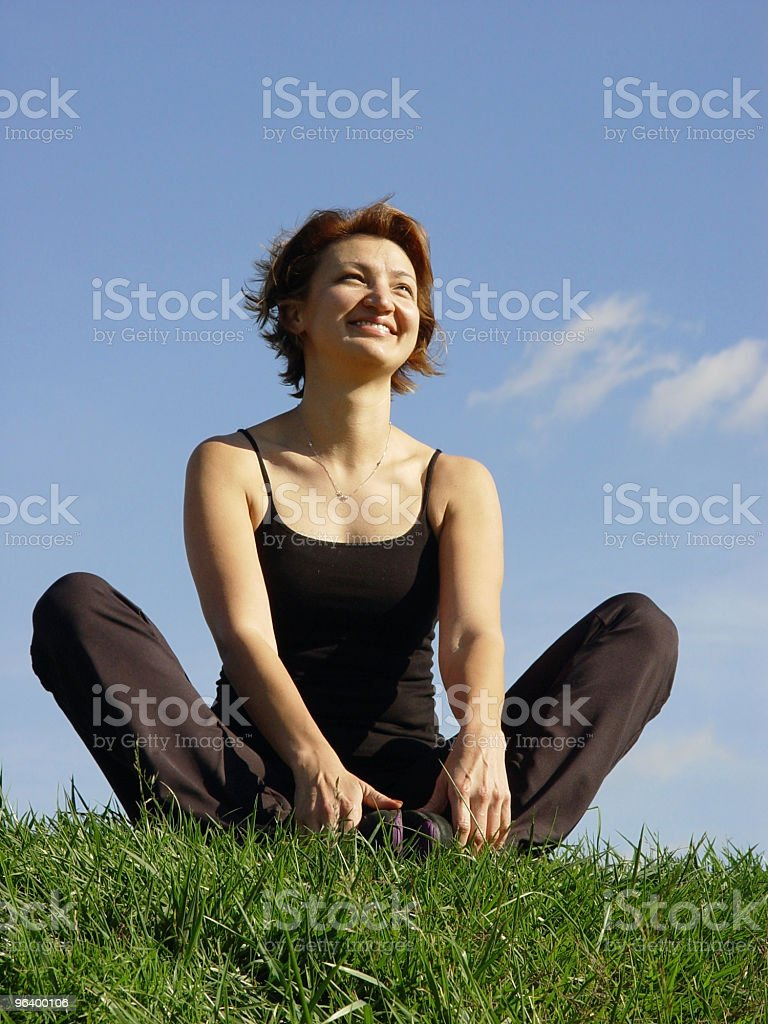 Enjoying life outdoor - Royalty-free Adult Stock Photo