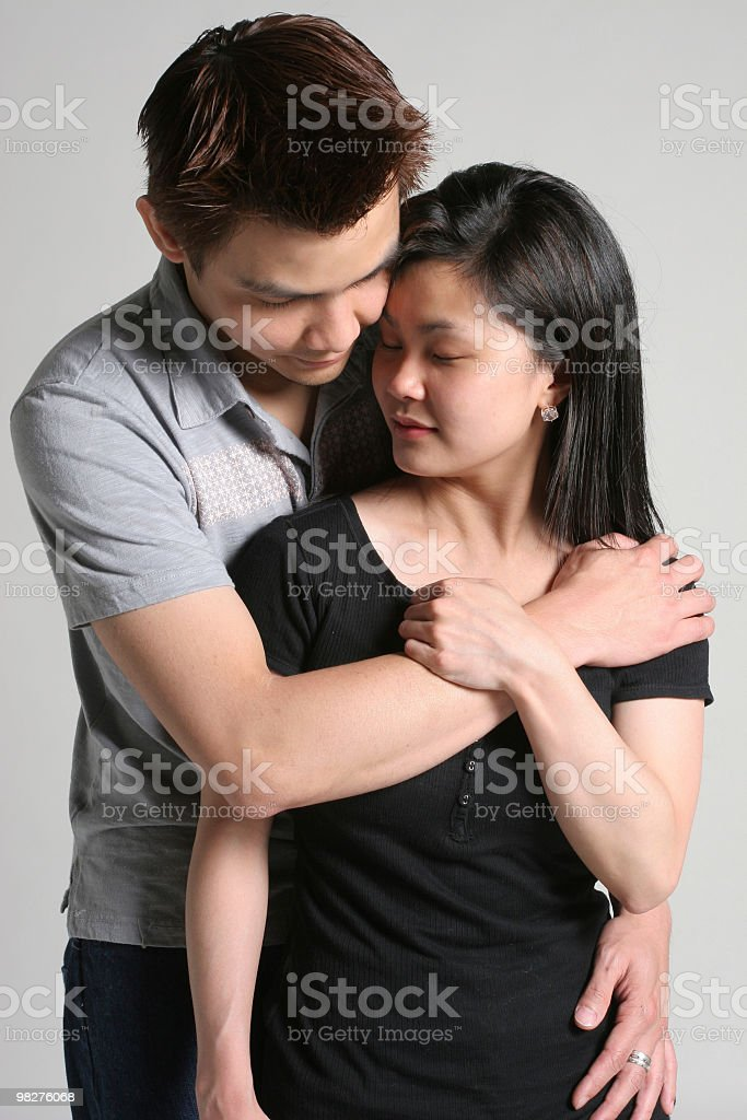 Enjoying our moment together royalty-free stock photo