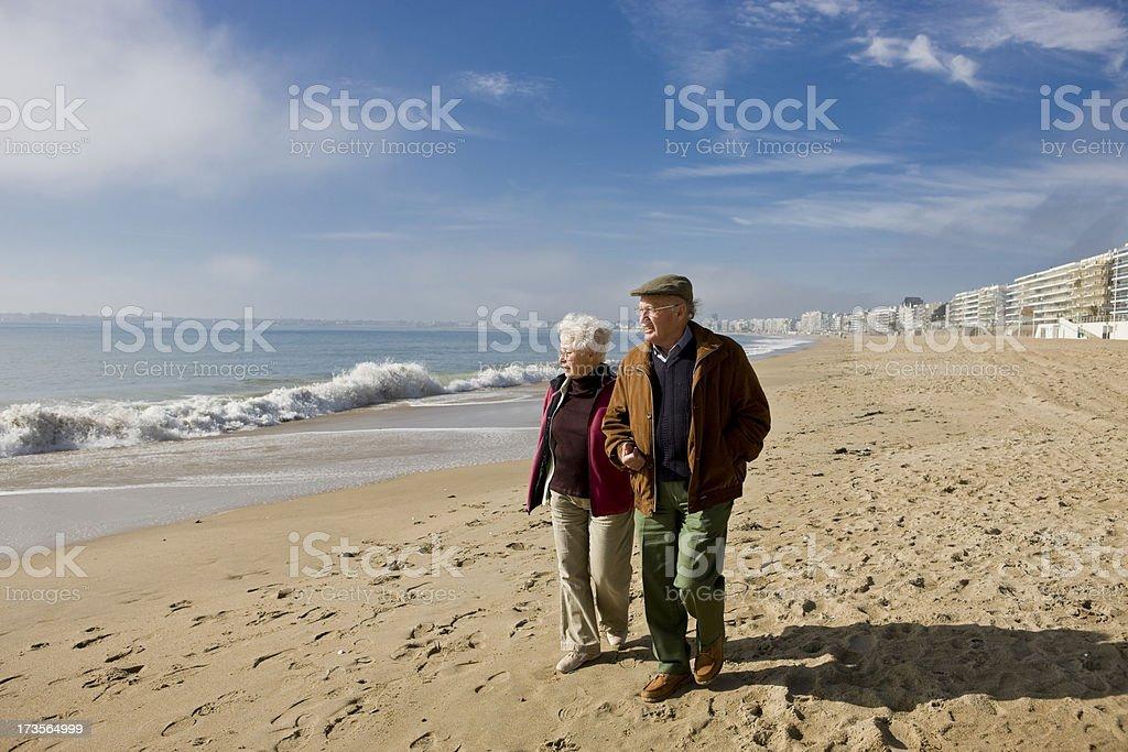 Enjoying retirement royalty-free stock photo